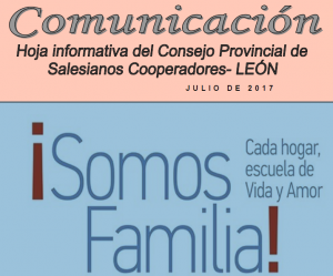 Boletín Provincia de León. Julio 2017
