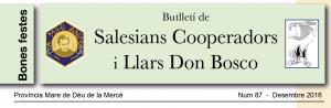 Butlletí de Salesians Cooperadors i Llars Don Bosco