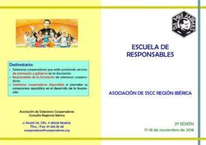 Escuela de responsables de animación, formación y gobierno