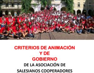 Criterios de animación y gobierno
