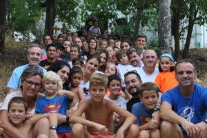 Campamento de Familias. Sierra de Cazorla