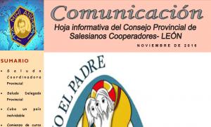 Boletín. Provincia de León. Noviembre 2016