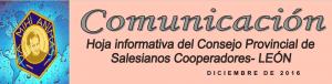 Boletín de diciembre. Provincia de León