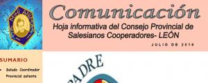 Hoja Informativa de León. Julio 2016