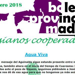 Boletín informativo de Madrid. Febrero 2018