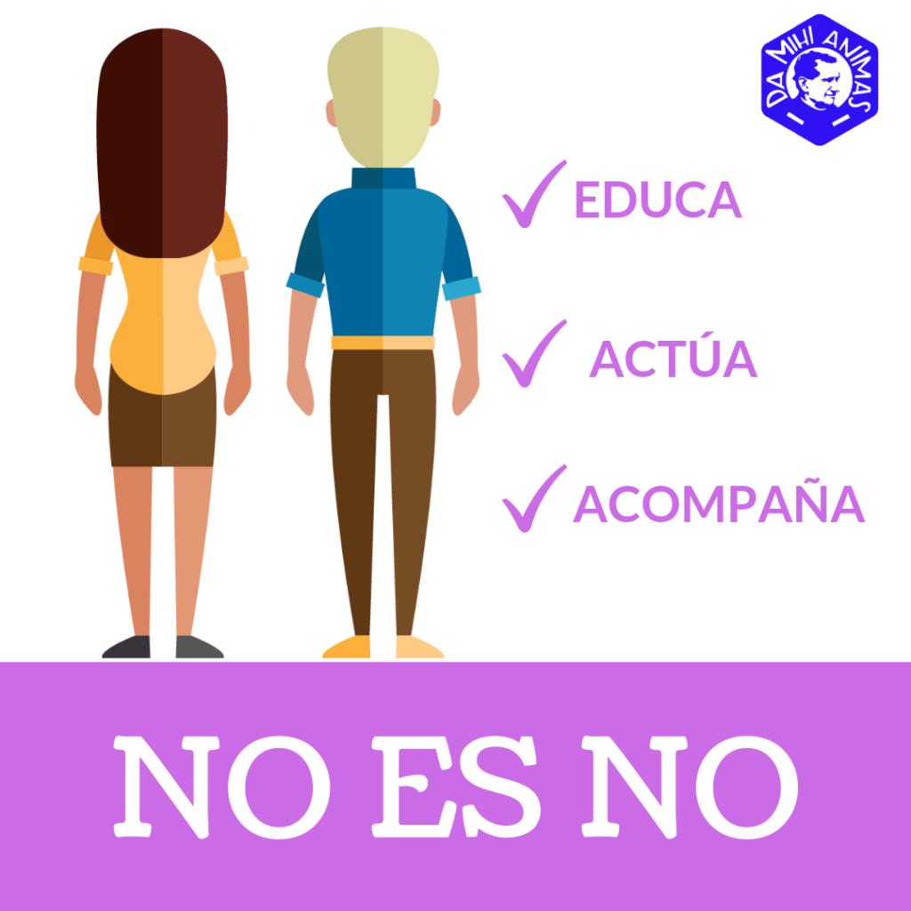 Imagen manifiesto No es No