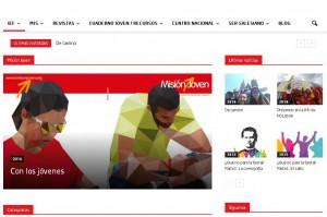 pagina web pastoral juvenil