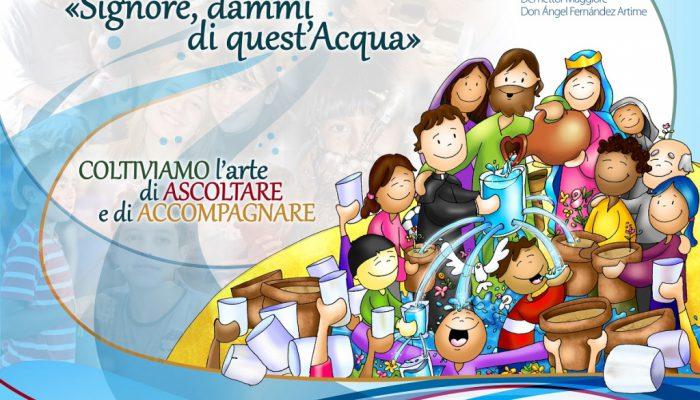 RMG – Presentación del póster del Aguinaldo 2018 del Rector Mayor