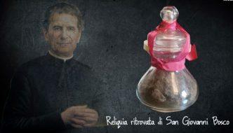 Recuperada la Reliquia de Don Bosco